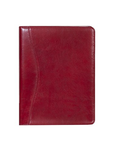 (Scully Italian Leather Letter Pad (Red))