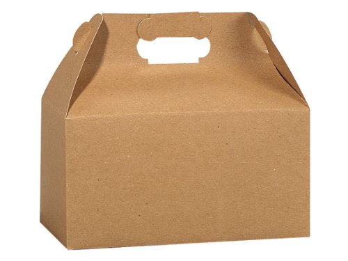 - KRAFT RECYCLED Gable Boxes9-1/2