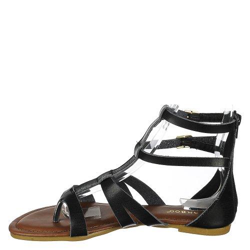 Bambou Cope-26 Sandale Noir
