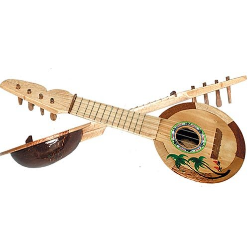 Beistle 50820 Coconut Ukulele, 17-Inch by Beistle