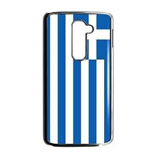 Greece Flag LG G2 Cell Phone Case Black kjfj