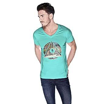 كريو La City T-Shirt For Men - L, Green
