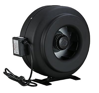 12 Inch Hydroponics Exhaust Fan Inline Cooling Duct Fan