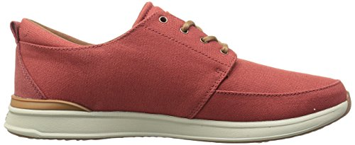Reef Mens Rover Low Fashion Sneaker Brick/Grey vYqeu