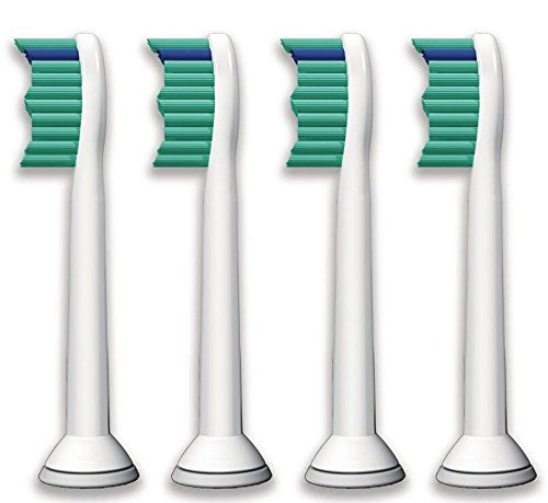 Ronsit 4pcs Electric Toothbrush Heads for Sonicare Proresult Hx6530 Hx6014 Hx6013
