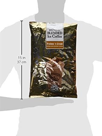 Amazon.com : Big Train Blended Ice Coffee, Pralines n Cream, 3.5 Pound, Powdered Instant Coffee Drink Mix, Serve Hot or Cold, Makes Blended Frappe Drinks ...