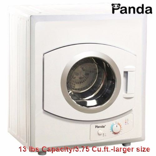 Price comparison product image Panda 3.75 cu.ft Compact Laundry Dryer, White