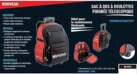 Facom BS.RB Sac /à dos roulant /à roulettes