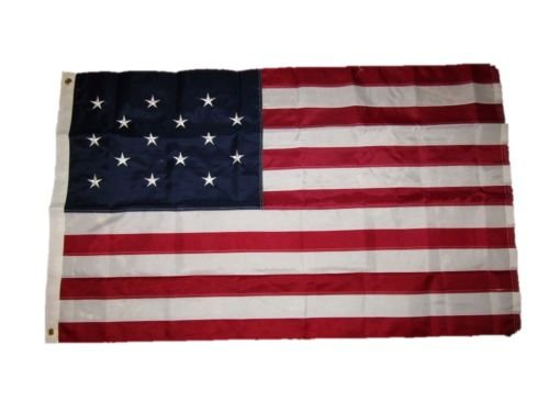 USA Seller3x5 Embroidered 15 STAR SPANGLED BANNER WAR 1812 220D Nylon Flag w/ Clips+ bonus e-book with pictures