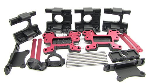 Electric Losi XXL-2 BULKHEAD, BRACES, PINS (Front & Rear LST2 XXL2-E LOS04004 by Team Losi