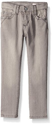 Celebrity Pink Toddler Girls' Super Soft Denim Skinnys, Kerry Grey Wash, 4T by Celebrity Pink