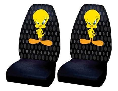 Tweety Bird Car Bucket Seat Covers