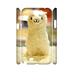 QSWHXN Lama Pacos Customized Hard 3D Case For Samsung Galaxy Note 2 N7100