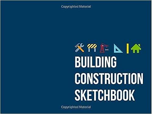 Building Construction Sketchbook: Dark Blue Dot Grid Architecture