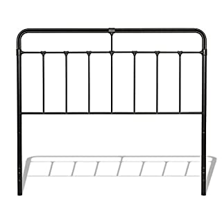 Leggett & Platt Fairfield Metal Headboard Panel with Spindles and Intricate Castings, Dark Roast Finish, Queen (B00BQ0ZD96) | Amazon Products