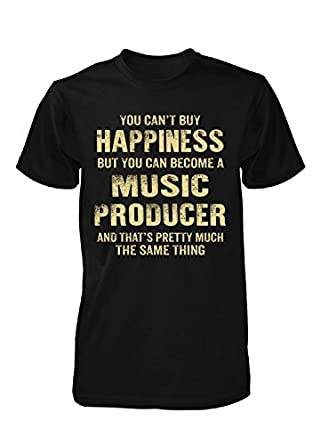 Amazon com happiness is being a music producer cool gift unisex