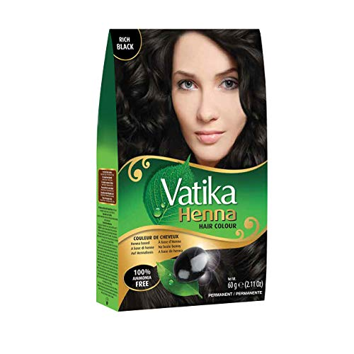 (Dabur Vatika Henna Hair Color - Black)