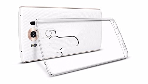 Tektide Case Compatible for LG V10, [Invisible Armor] Xtreme Slim, Clear, Soft, Lightweight, Shock Absorbing TPU Bumper/Back Cover
