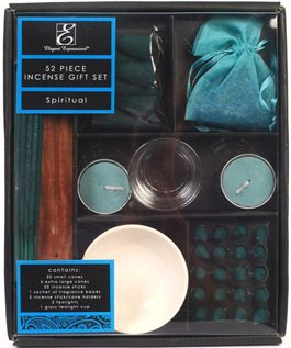 Aromatherapy Hosley® Spiritual Scented Premium Gift Pack, 52 Pieces Highly Scented Incense. Hand fragranced, infused with essential oils. Ideal Gift f…
