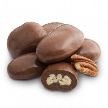 Milk Chocolate Amaretto Pecans 2 PK (Chocolate Covered Pecans)