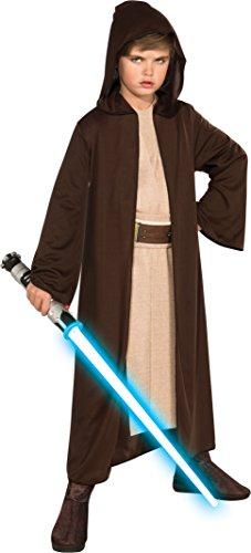 Bata Jedi con capucha para niños Star Wars Classic de Rubies, mediana