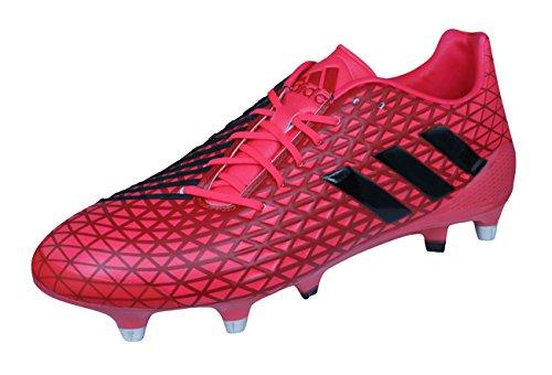 adidas Predator Malice SG Mens Rugby Boots-Red-13.5 (Adidas Predator Rugby)