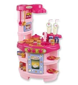 Klein 9599 - Cocina interactiva de juguete con accesorios