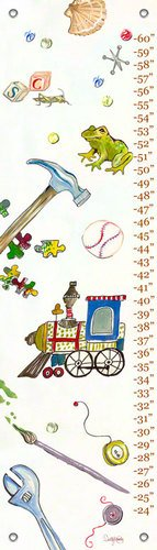 Shelly Kennedy Oopsy Daisy (Oopsy daisy Play Growth Chart by Shelly Kennedy, 12 by 42 Inches)