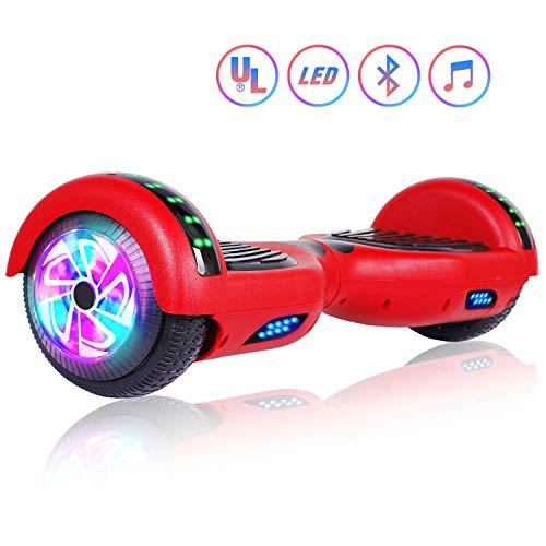 """Felimoda 6.5"""" inch Two Wheels Electric Smart Self Balancing"""