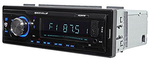 Car Digital Media Bluetooth AM/FM/MP3 USB/SD Receiver For 2003-2007 Honda Accord by Rockville (Image #2)'