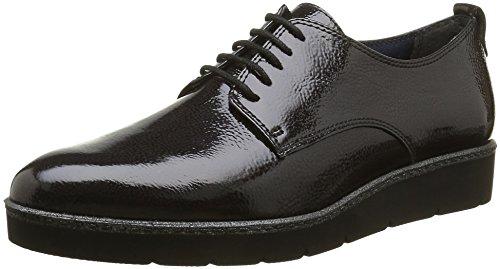 Tamaris 23312, Zapatos de Cordones Oxford para Mujer Gris (ANTHRACITE 214)