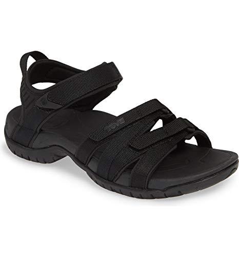 - Teva Women's Tirra Sandal Black Size 5.5 M US