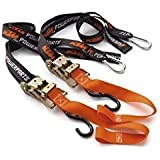 NEW KTM SOFT TIE DOWNS WITH RATCHET CLIP HOOKS U6910048