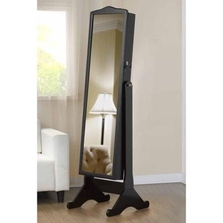 Full Length Mirror with Jewelry Storage by Home Genius