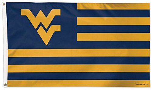WinCraft NCAA West Virginia University Deluxe Flag, 3' x 5'