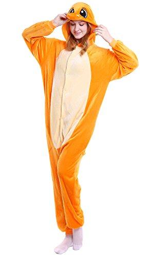 Donna Charmander Costume Sleepwear Uomo Attrezzatura Party Kigurumi Anime Pigiama Dolamen Adulto Halloween Unisex Onesie Natale Cosplay XfBH7q
