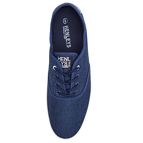 KRMSL373 Quiksilver Canvas Foundation Milo Blue Navy Men's Shoes 8SwIrxCS