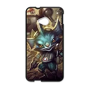 HTC One M7 Phone Case Cover Black Rumble league of legends EUA15998818 Phone Case Cover Sports Personalized