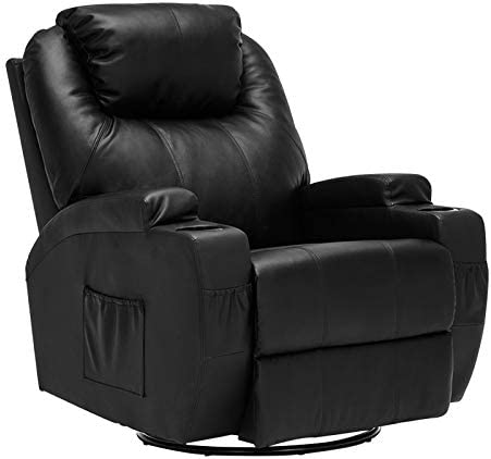 Mecor Massage Recliner Chair PU Leather Recliner Chair