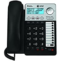AT&T 993 2-Line Phone w/Caller ID Charcoal