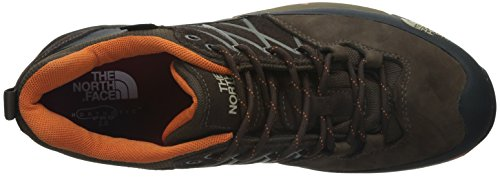 The North Face Wreck Gtx - Zapatillas de senderismo unisex Demitasse Brown/Burnt Orange