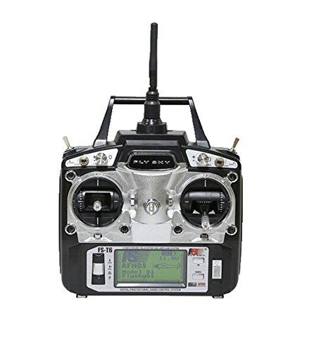 niceEshop(TM) FlySky FS-T6 2.4ghz Digital Led Screen 6 Channel Transmitter and Receiver