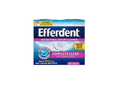 Efferdent Denture Cleaner 252