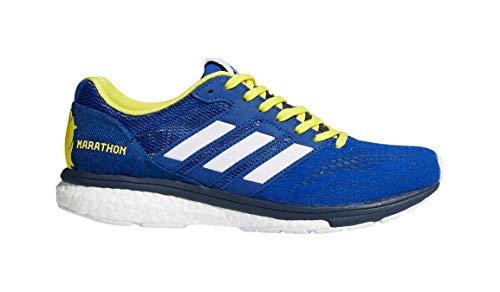 adidas Women's Adizero Boston 7 Running Shoe - Boston Marathon Edition - Color: Collegiate Royal/White/Collegiate Navy (
