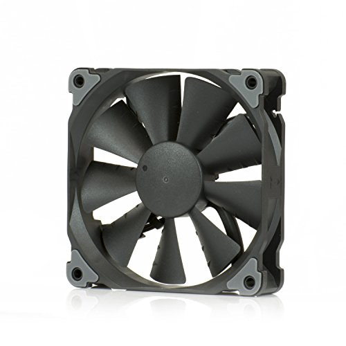 Black Case Fan - Phanteks Black Frame/Black Blades 120mm, Case & Radiator Fan-Retail Cooling PH-F120SP_BBK