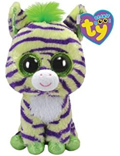 Ty Beanie Boos Wild - Zebra (Justice Exclusive)