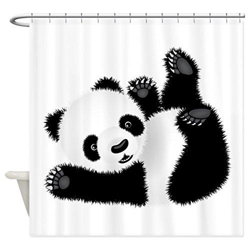 66x72 Inches · JKYUKO Cute Baby Panda Shower Curtain 60