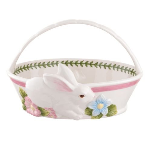 Portmeirion Botanic Garden Terrace Bunny Oval Bread Basket
