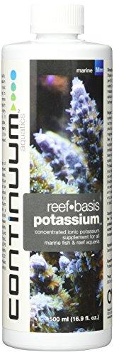 Continuum Aquatics ACO30521 Reef Basis Potassium Liquid for Aquarium, 16.9-Ounce