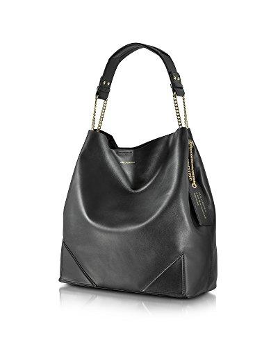 Karl Lagerfeld Mujer 71KW3001 Negro Cuero Bolso De Hombro